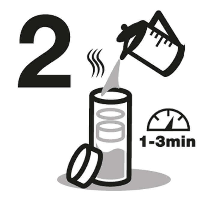 Instrucción de Botella de agua 2